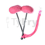 TyFry® Ultimate Tenor Drum Mallets (Hot Pink)