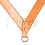 TyFry® Classic Leather Drum Sling (Tan)